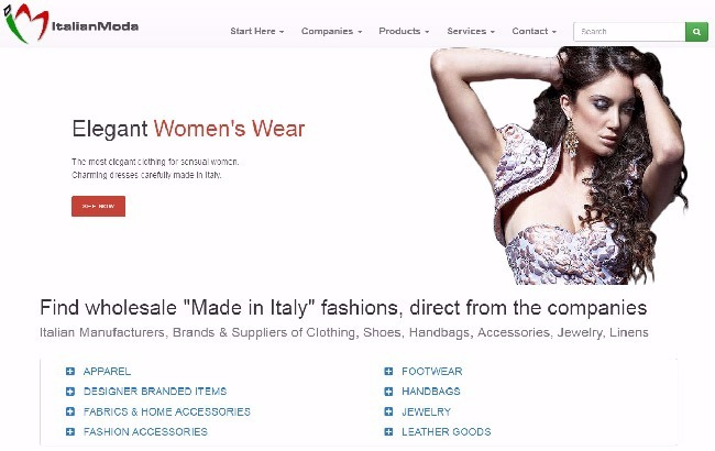 Italian fashion wholesale suppliers: clothing, shoes, handbags, jewels, fashion accessories made in Italy, wholesale